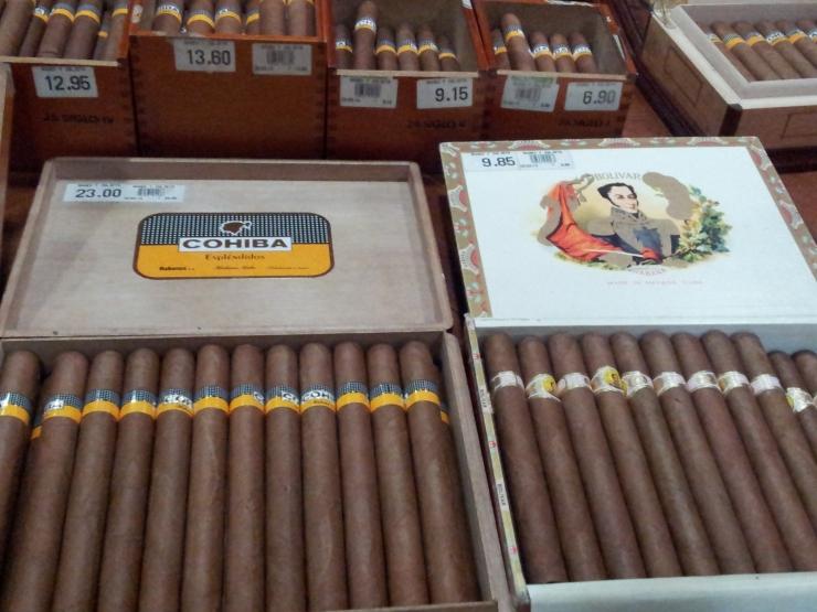 Cuban cigar factory Havana
