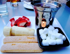 chocolate fruit fondue New York City