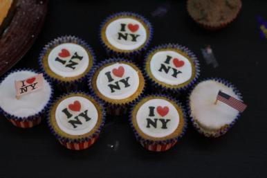 I heart New York cupcakes