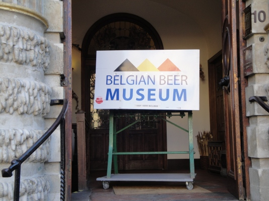 Belgian Beer Museum Entrance