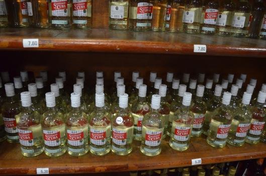 Cuban rum store Havana