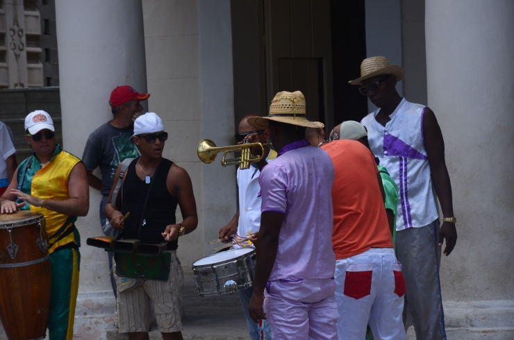 Havana street music band