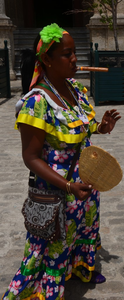 Cuban lady Havana Viejo Old Town
