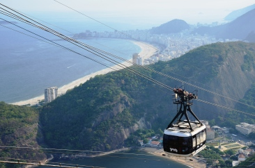 cable car to Sugarloaf Mountain