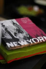 New York napkins