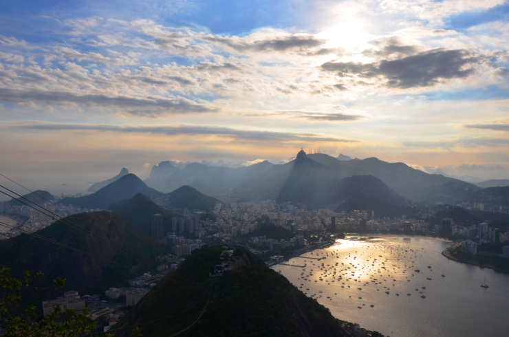 view from Sugarloaf Mountain Rio