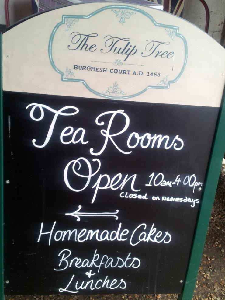 Tulip Tree tea rooms Chiddingstone Kent