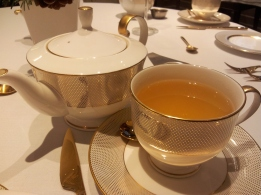 mango green tea St James Court Hotel afternoon tea