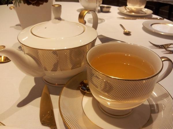 mango green tea St James Court Hotel afternoon tea