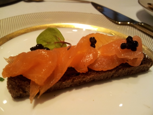 smoked salmon rye bread open sandwich afternoon tea