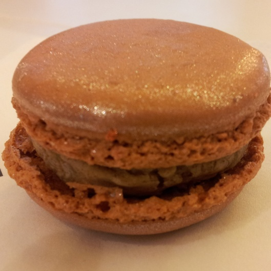 speculoos macaron Pierre Marcolini