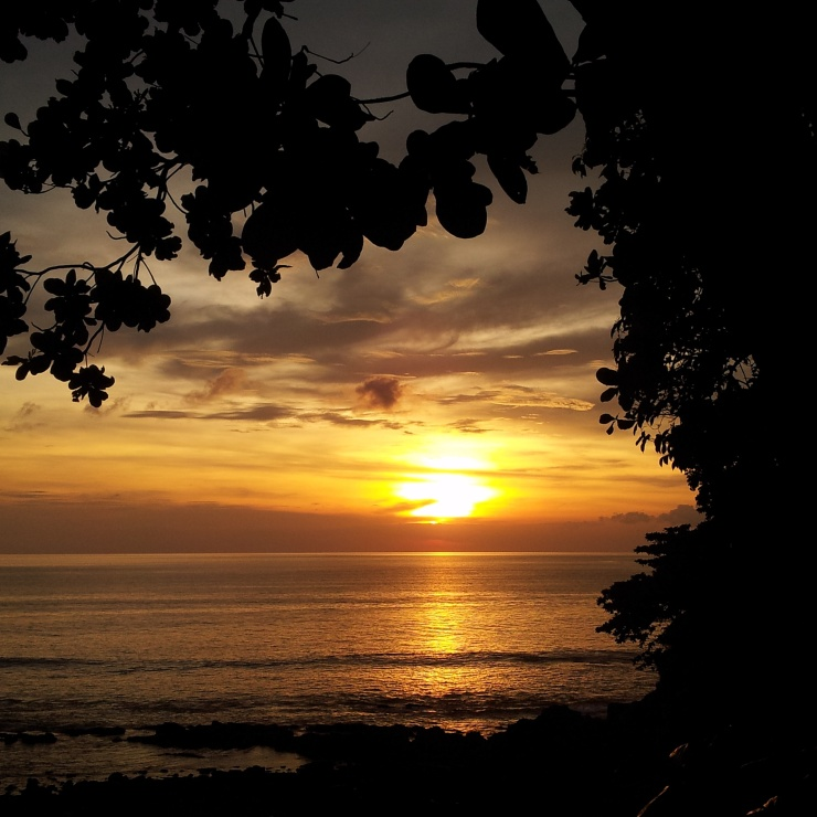 Koh Lanta sunset Crown Lanta view