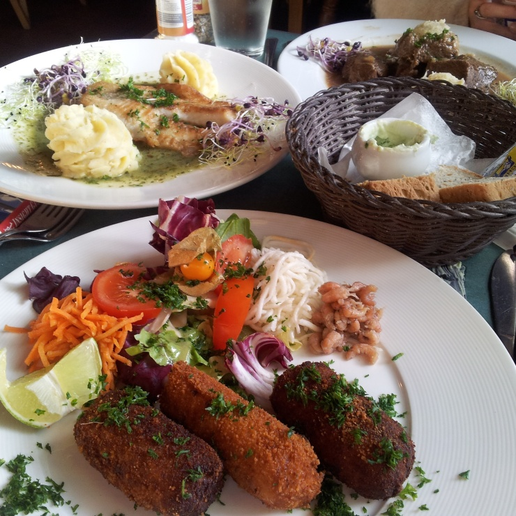 traditional Belgian food Restobieres Brussels