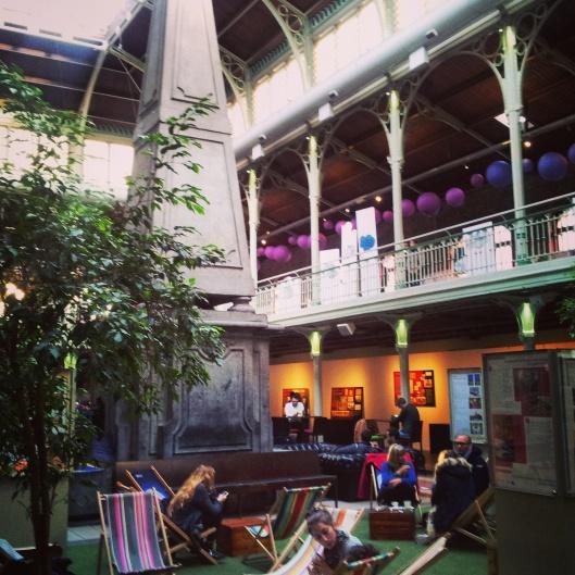 les halles saint Gery Brussels