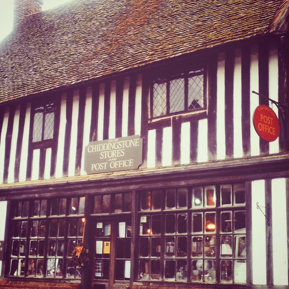 Chiddingstone post office oldest shop England