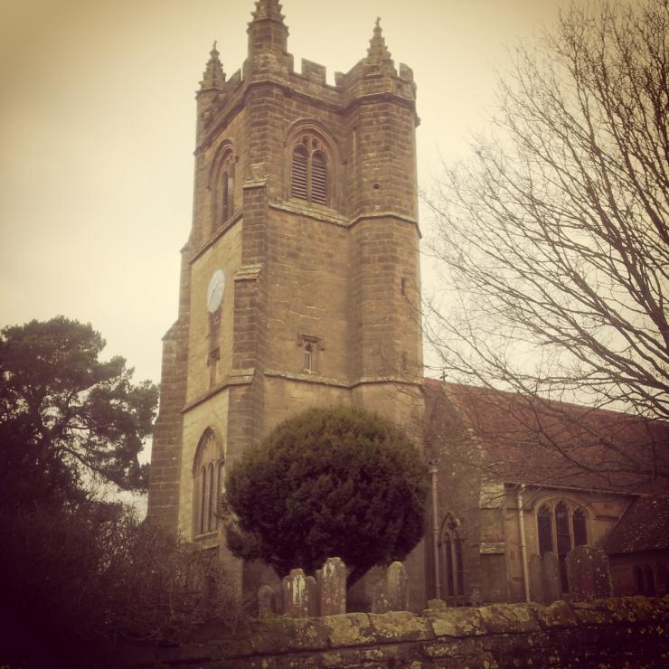 Chiddingstone church Kent