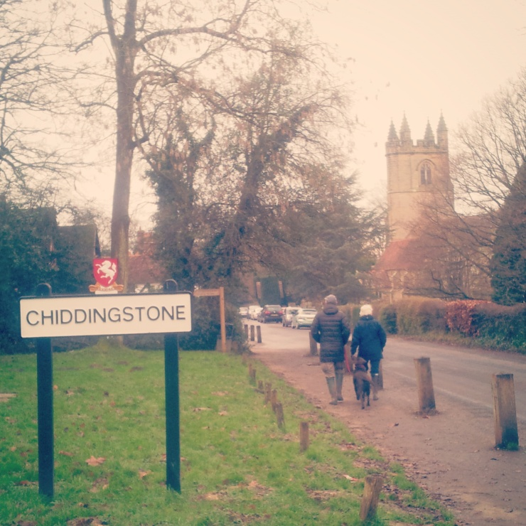 Chiddingstone sign Kent