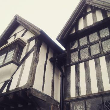 pretty Kent village Tudor street
