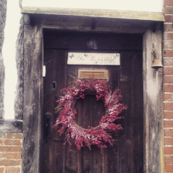 Christmas decoration Chiddingstone