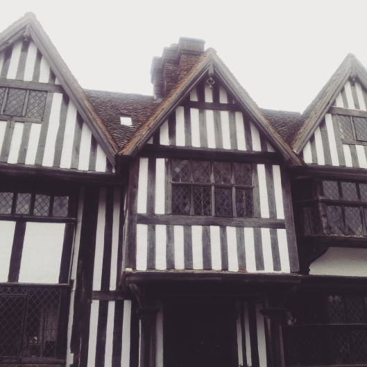 Tudor building village Chiddingstone Kent
