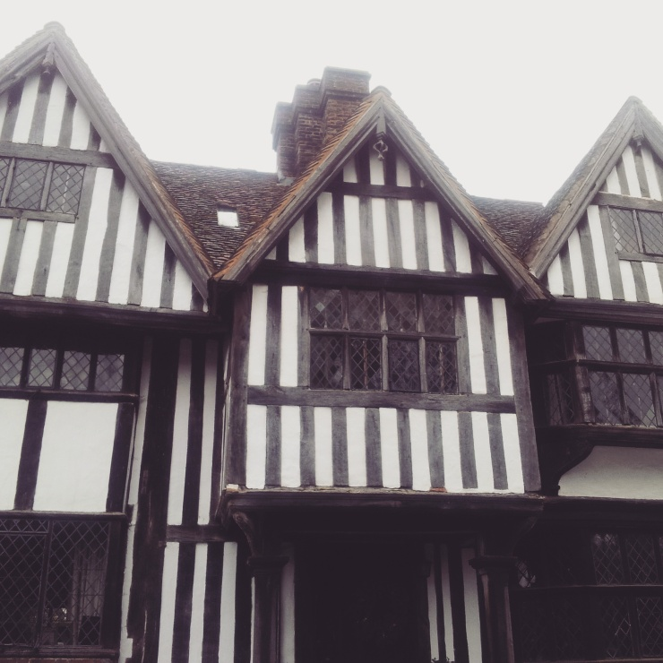 Tudor building village Chiddingstone Kent
