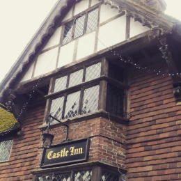 Castle Inn Pub Chiddingstone Kent