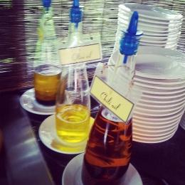 oil selection Crown Lanta restaurant buffet