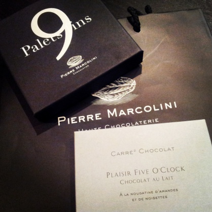 Pierre Marcolini Black Chocolate Box