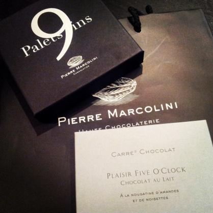 Pierre Marcolini Black Chocolate Box