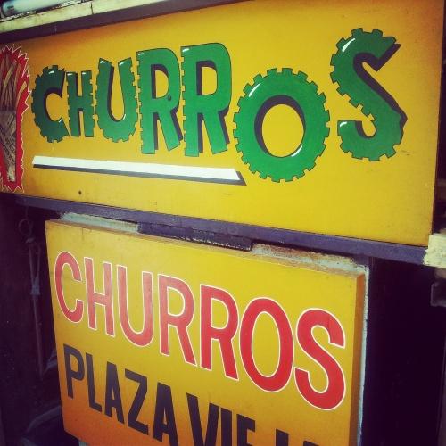 churros stall Havana