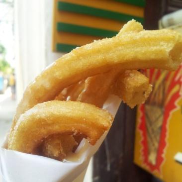 street food churros Havana Cuba