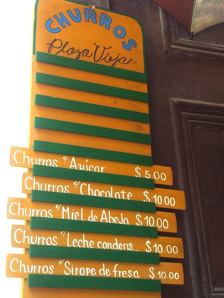 churrros Havana street food
