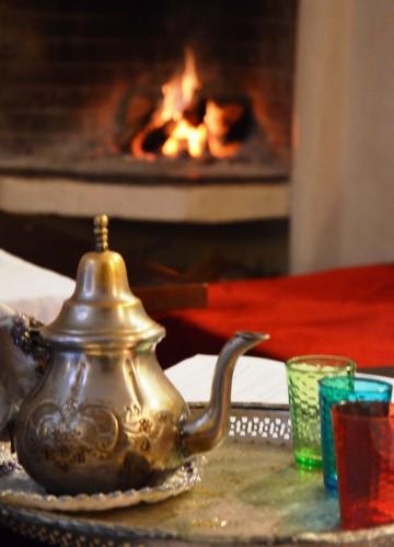 Marrakech fresh mint tea