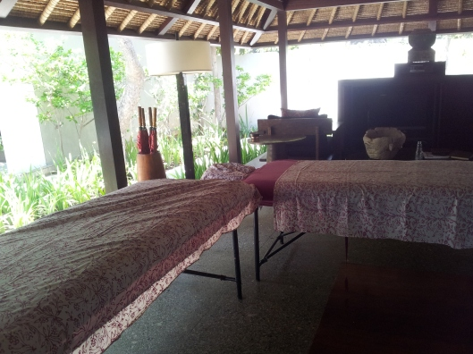 in-room private spa treatment Kayumanis