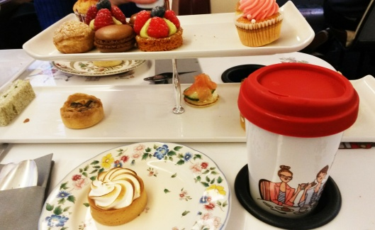 routemaster bus afternoon tea