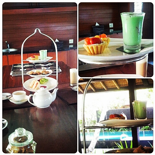 complimentary high tea Kayumanis Bali