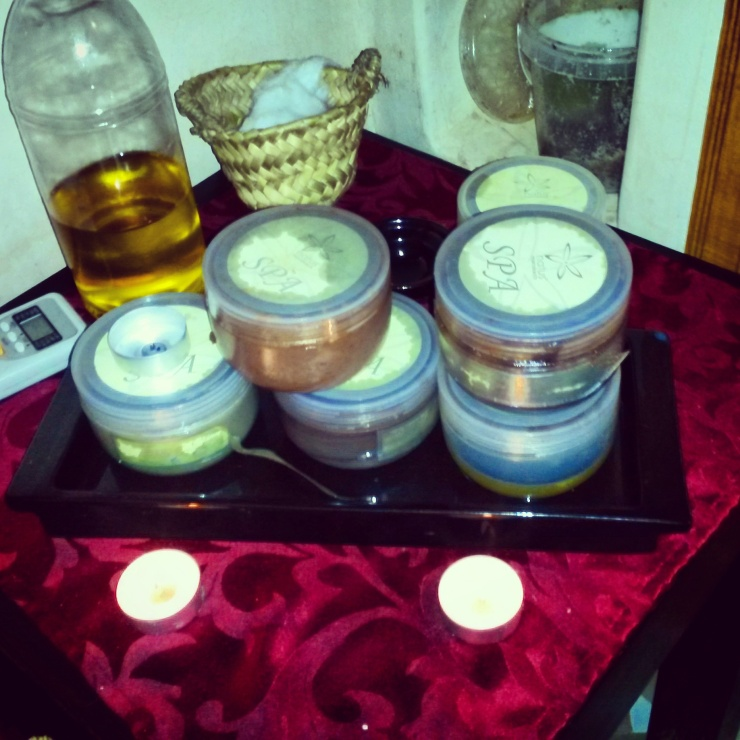 hammam spa products Marrakech
