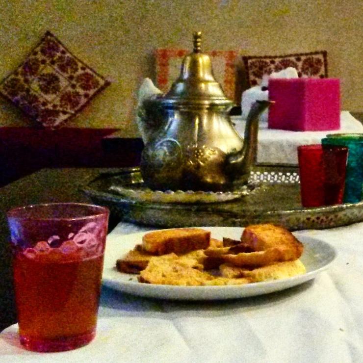 Moroccan tea Rosa Bonheur Hammam