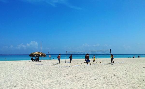beach volleyball royal hicacos varadero