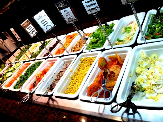 salad bar Royal Hicacos