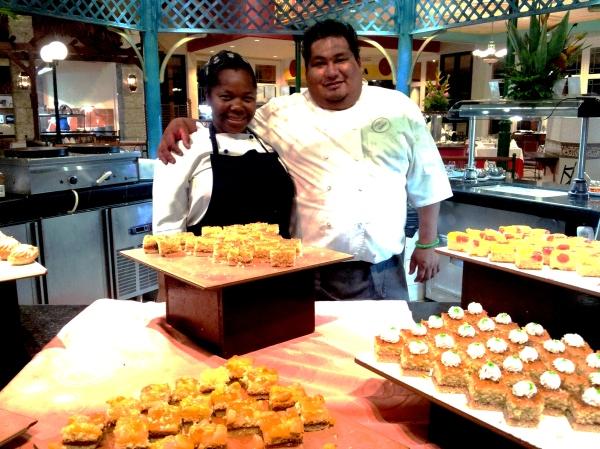 restaurant staff royal hicacos