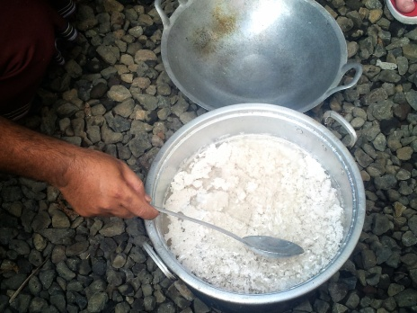 salt Balinese cooking