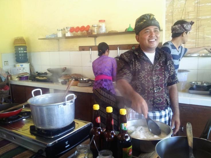 Ketut Payk Bali cookery class