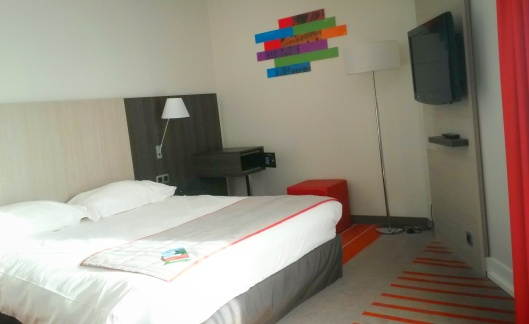 Park Inn Lille bedroom