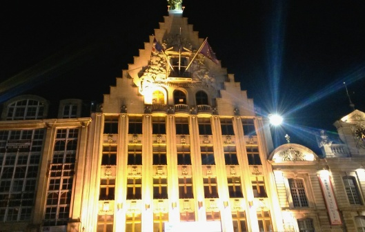 Grand Place Lille night view