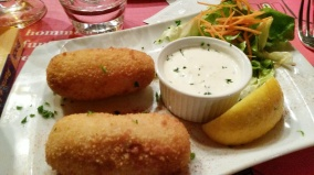 shrimp croquette Lille