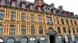 Lille main square buildings