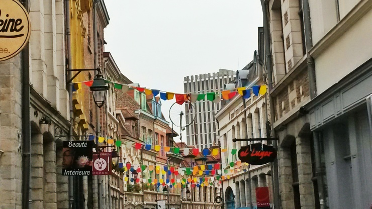 Lille old town streets