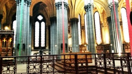 inside Lille Cathedral