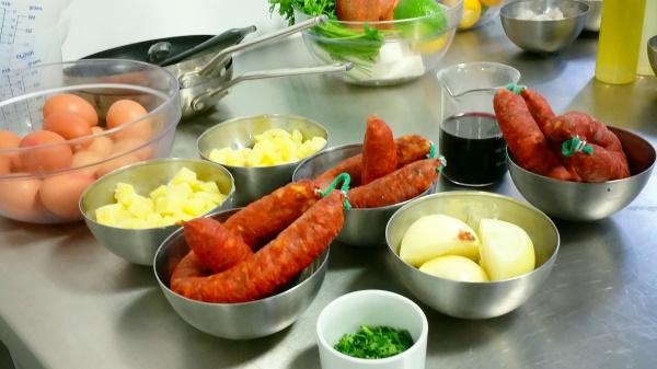 Spanish tapas cooking class London